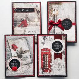 weihnachtskarten-set-vintage