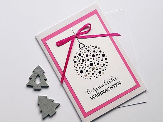 karte-weihnachtskugel-rosa