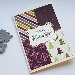 weihnachtskarte-lila